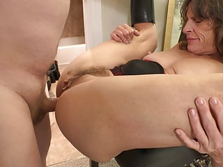 Poor Granny Gets Fundamentally Fucked ANAL ABUSE
