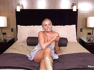 Thick Busty Country MILF gets Pain in the neck Fucked