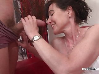French squirt mature cougar hard sample teamed