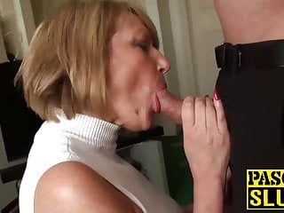 XXX mature slut Amy needs a verge on pounding with a chubby cock