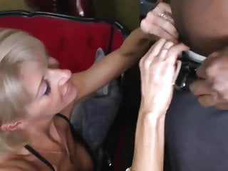down in the mouth MILF takes BBC