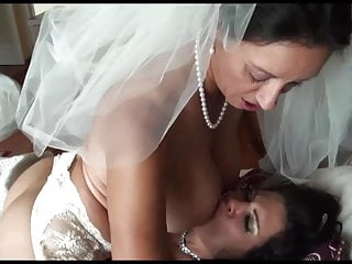 PM - Lesbian Bride and bridesmaid by KR