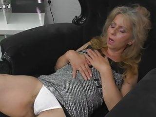 Matured mother masturbating watching xHamster