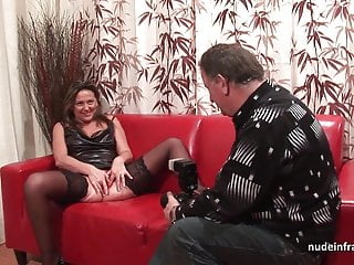 Hard anal casting couch bungler mom fisted and DP