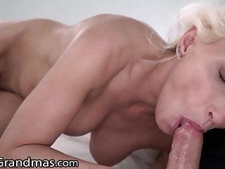 LustyGrandmas Hot GILF Fucks her Yoga Teacher
