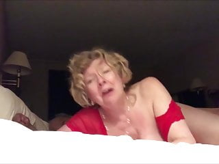 Venerable slut wife fucked from behind cum a lot
