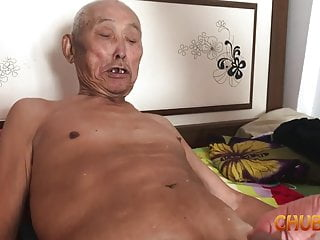 Chinese old alms-man