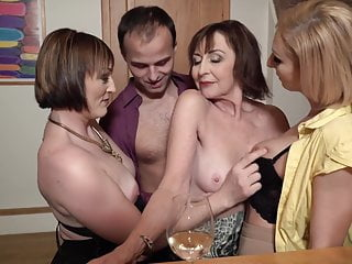 Sex party with desperate moms and single young gentleman