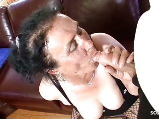 Puristic Grandma Pinchbeck Porn of Young Boy and let him Fuck Anal