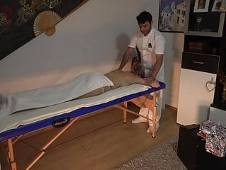 Hidden Camera Involving A Massage Parlor - Blonde Unspecified Gets Fucked