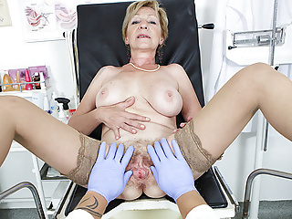 flimsy 71 years grey mommy pov fucked by her weaken