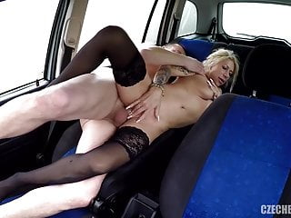 Hooker fucked in car  for wealth