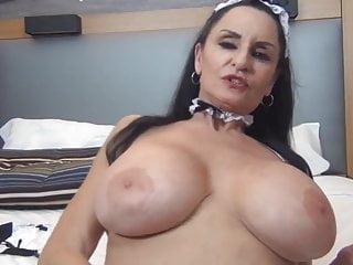 Cute granny roommaid anal duties