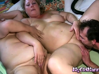Fat Granny and Attractive Bbw in Triplet