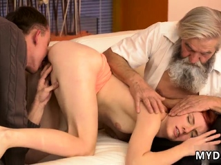 Dad anal webcam Curt practice with an older