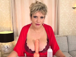 More jerk off instructions from lord it over mature Lassie Sonia