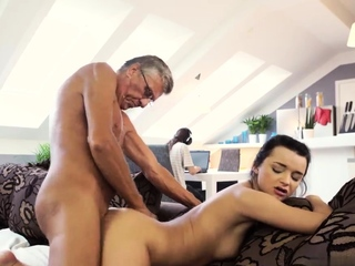 Age-old milf fucks ally' associate's sons and young anal hd