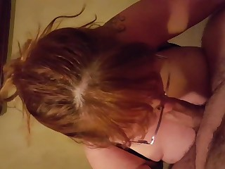 Wife giving me a blow job