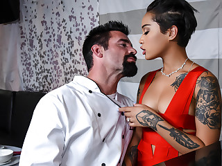 Honey Gold Charles Dera in Tasting The Chef - BrazzersNetwork