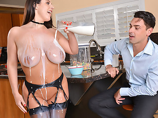 Angela White Ryan Driller close to AmericanDaydreams