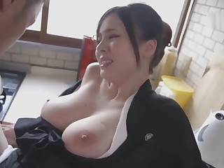 Aimi Yoshikawa HBAD-392 Big Bristols Widow In excess of The Neck And Silent Ascen