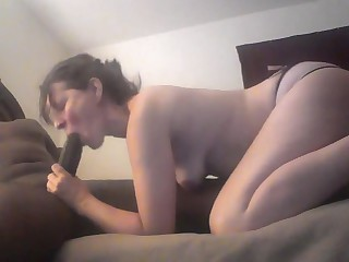 Cheating Wife Takes Her First Fat Huge BBC - Register For FREE