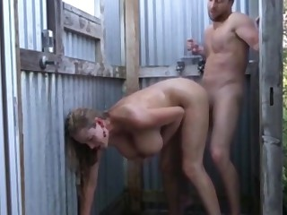 most assuredly busty cougar milf seduces and fucks neighbor after role of
