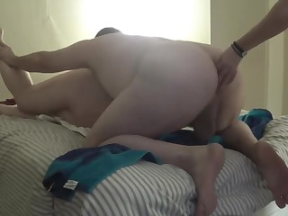 2017-03-06 BBW fuckmeat Used away from manslut and wife with Strap On