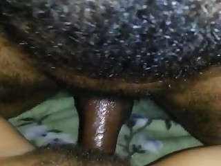Fucking my hairy wifes pussy