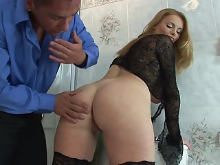 HOUSEWIFE CARY GETS FUCKED IN Use a fade
