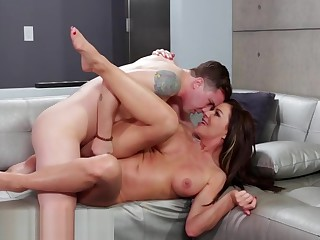Uninhibited Mommy Enthusiastic to Taste Stepson's Dick!