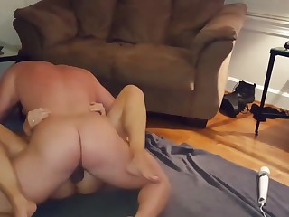 Wife fucked hard missionary on the stagger