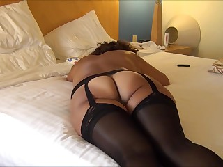 Asian maja show buttocks on touching b. Lingerie