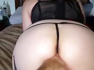 Wife in innovative lingerie