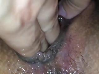 Squirting italian wife