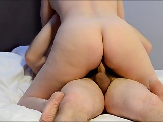 UK Wife Rides Cocks