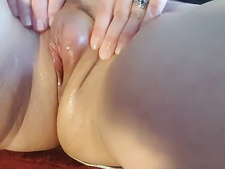 Hotwife masturbating
