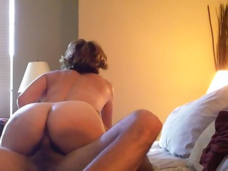 Crazy homemade Cougar, Voyeur xxx clip
