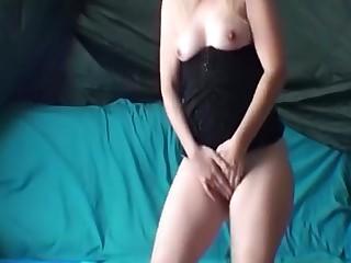 Fabulous amateur Stockings, MILFs xxx video