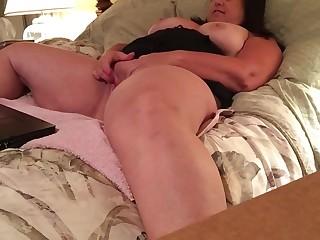 Rubbing my pussy again