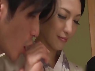 Threesome with asian performance mom - decoration 1