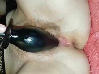 Wife pussy and bore fucked with toy