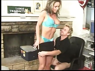 Milf cheating at work