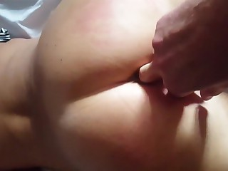 Scottish glasgow babe ass fingered doggy fuck cum tax