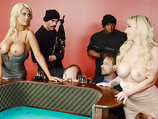 Bridgette B & Nina Kayy & Charles Dera & Regent Yashua in Befouled On Some Other Guys Dice - Brazzers