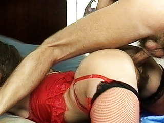 gaffer stepmom's hairy ass destroyed