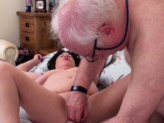 AgedLove Busty British Young gentleman Hardcore Mating Adventure