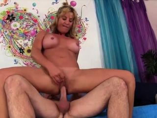 Blond Slut - Saleable Older Cowgirls Compilation Ornament 8