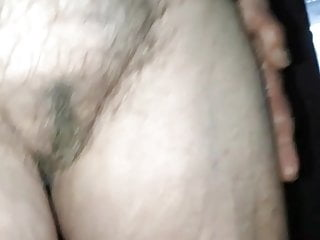 visited my very ancient aunt again, fine saggy tits, hairy pussy
