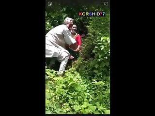 Desi padre Shagging in jungle